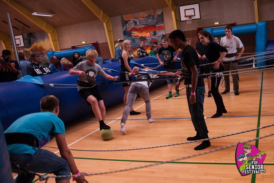 mega bordfodbold event