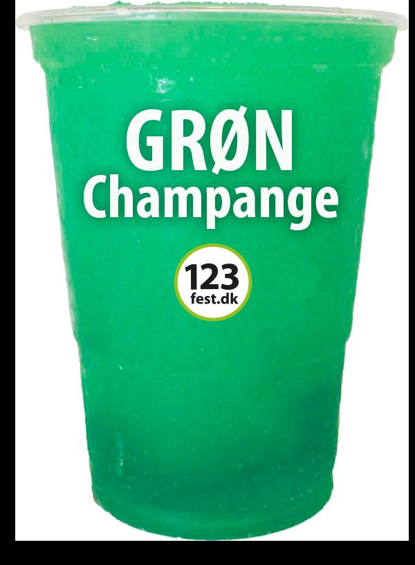 slushice grøn champangebrus