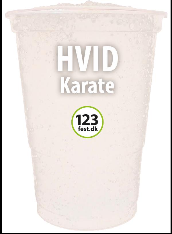 slushice hvid karate