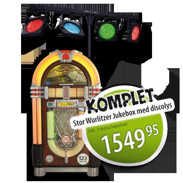 jukeboks komplet udlejning 123fest.dk
