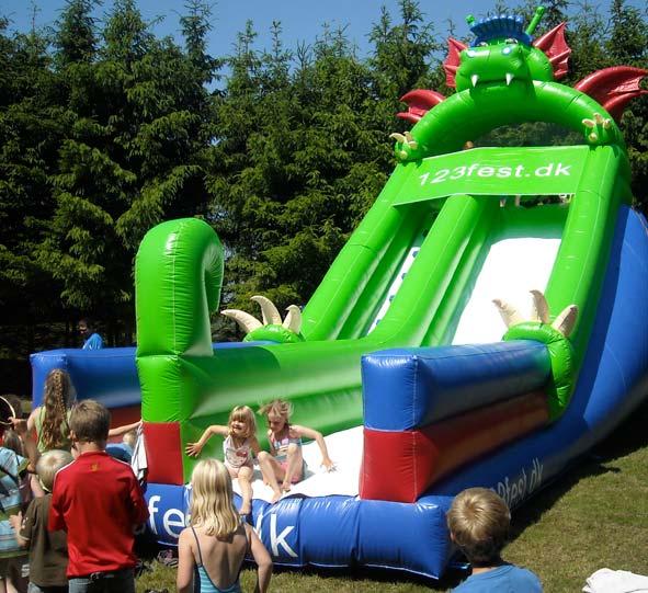 kæmpe slide kan bruges af alle.
